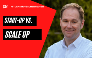Start-up vs. Scale up
